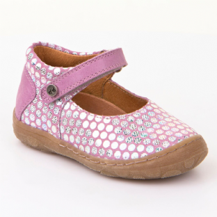Froddo Childrens Shoes G2140032-1 Lilac Ballerinas